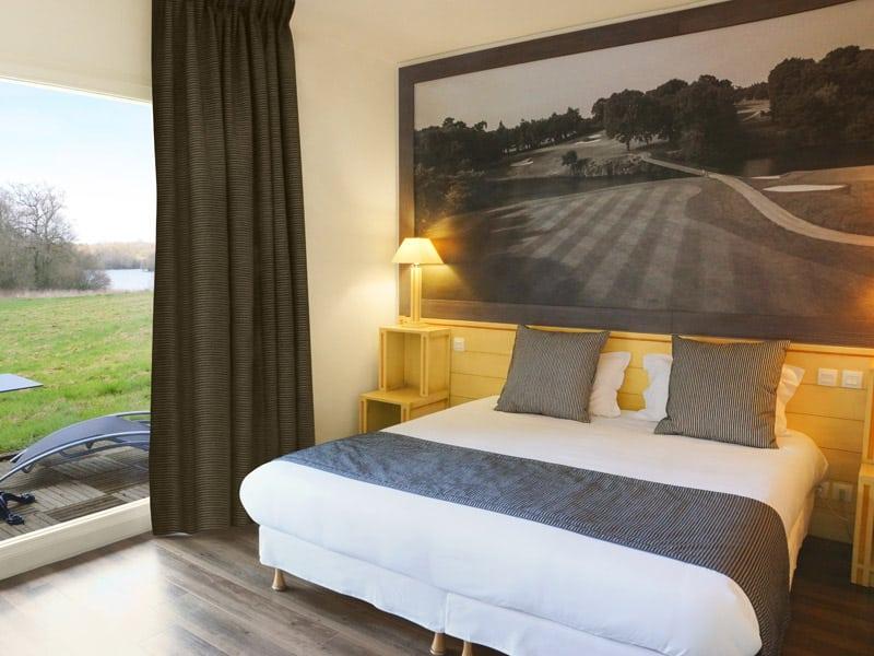 chambre de l'hotel du golf
