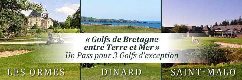 Séjour golfique bretagne 3 golfs