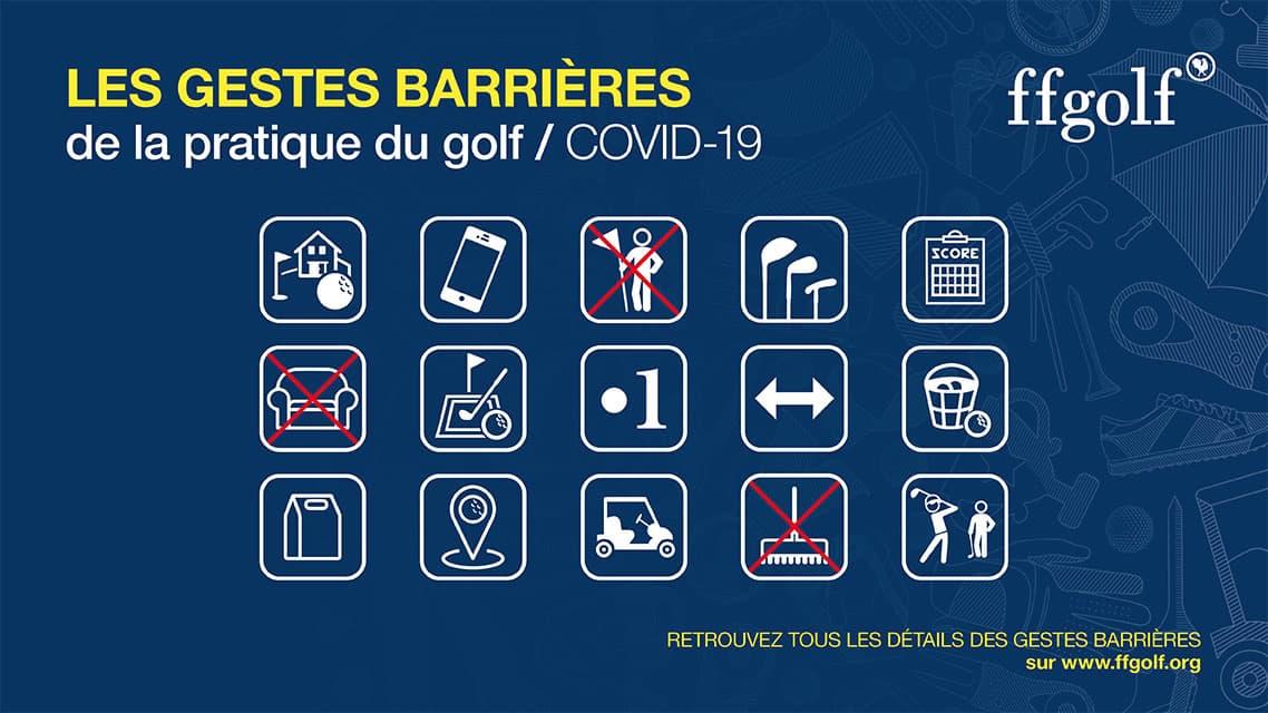 Conditions d'accès au golf dans le cadre du Covid-19 1