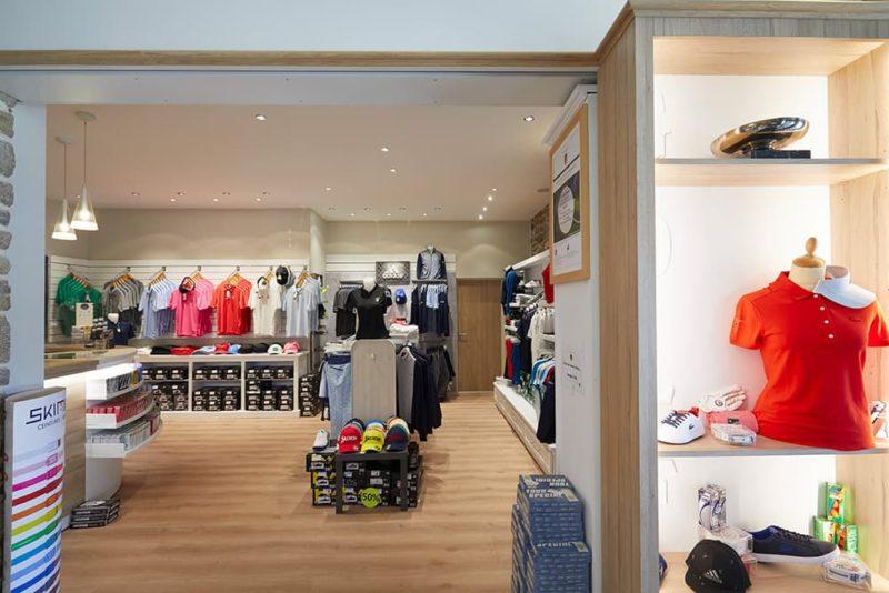 La boutique pro Shop Golf