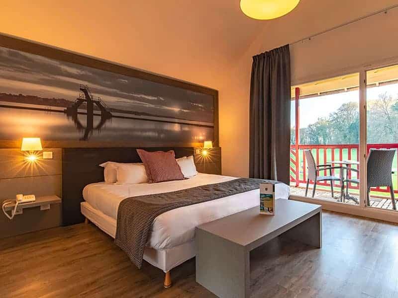 Chambre de l'hotel Golf de SAint-Malo
