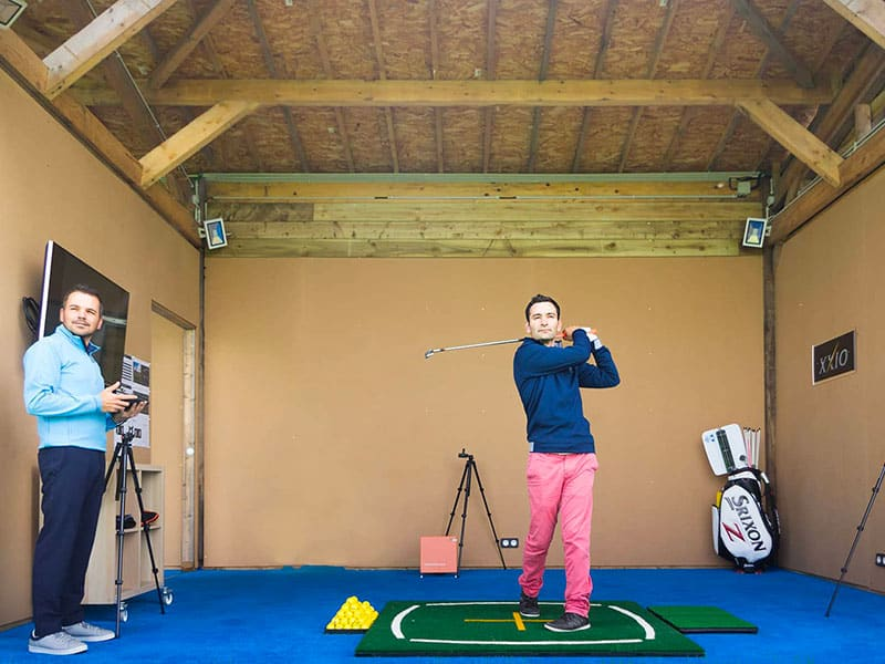 training-center golf à Saint-Malo