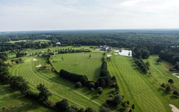 Golf vue aerienne